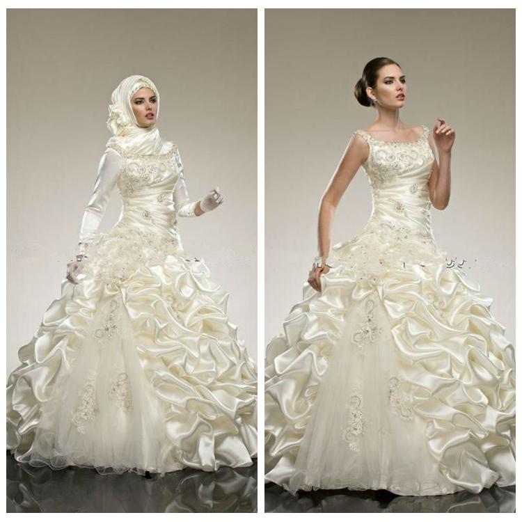 Long Sleeve Ball Gown Wedding Dresses, Long Sleeve Ball Gown ...