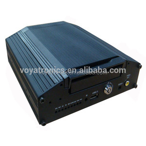4 channels HDD MDVR mdvr player h.264 with GPS, SD card storage, cost effective