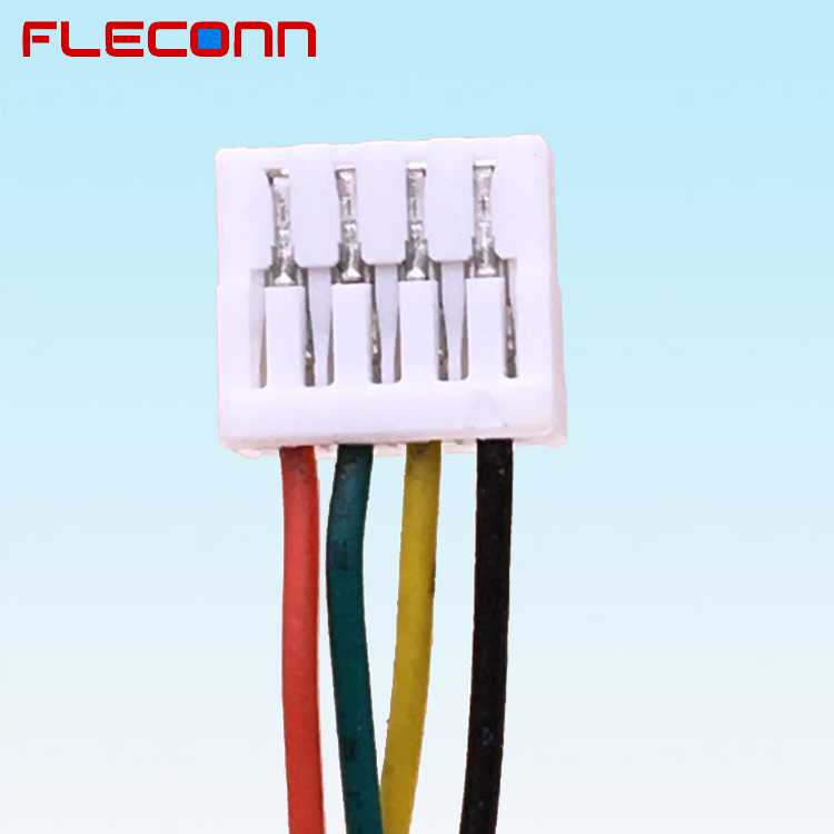 1.25mm Pitch GHR-04V-S 4 Pin JST GH Connector Wire Harness