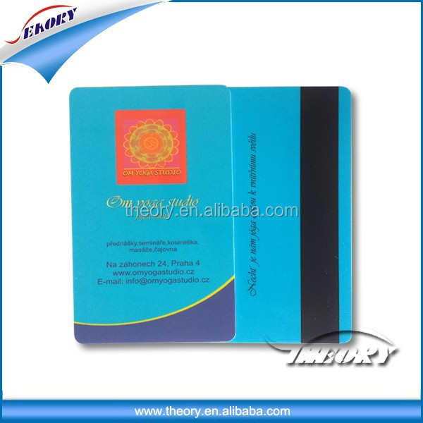 pvc magnetic card java card smart card