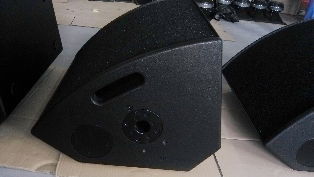Active coaxial monitor speaker qmax 15 inch neodymium 500w for 15 inch floor speakers