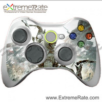 factory price replacement skin decal for Xbox 360 controller wild fighting game