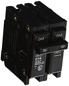 20-Amp 240V Eaton Corporation CL220CS Double Pole Ul Classified Replacement Breaker