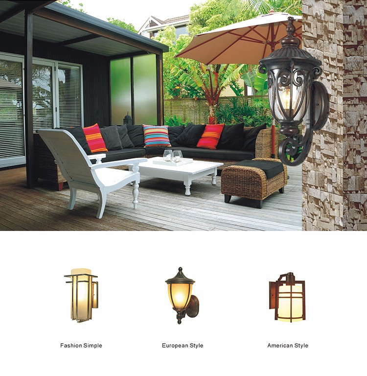 2016 hot sale main gate pillar light