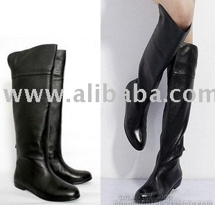 22376b89f75 Hot Sale Women Black Cow Leather Boots