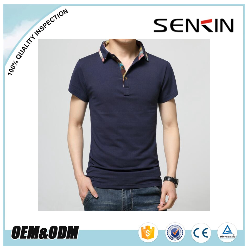 Guangzhou Supplier New Design Men Polo T Shirts With Custom Printig