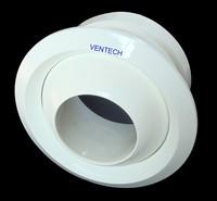 Hvac air duct round jet diffusers airport circular jet nozzle diffuser