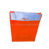 Promotional foldable and colorful grocery non woven shopping bags