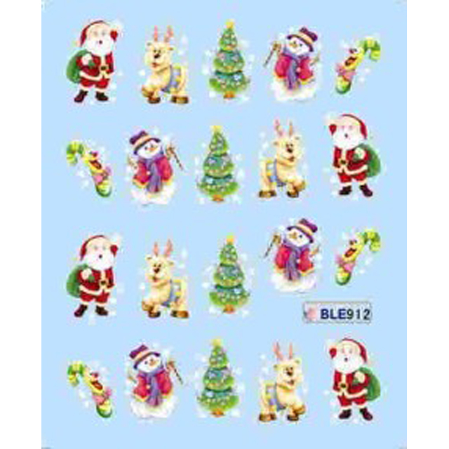 HOT holiday Halloween features Water Nail sticker art Design Water Nail Sticker wholesale