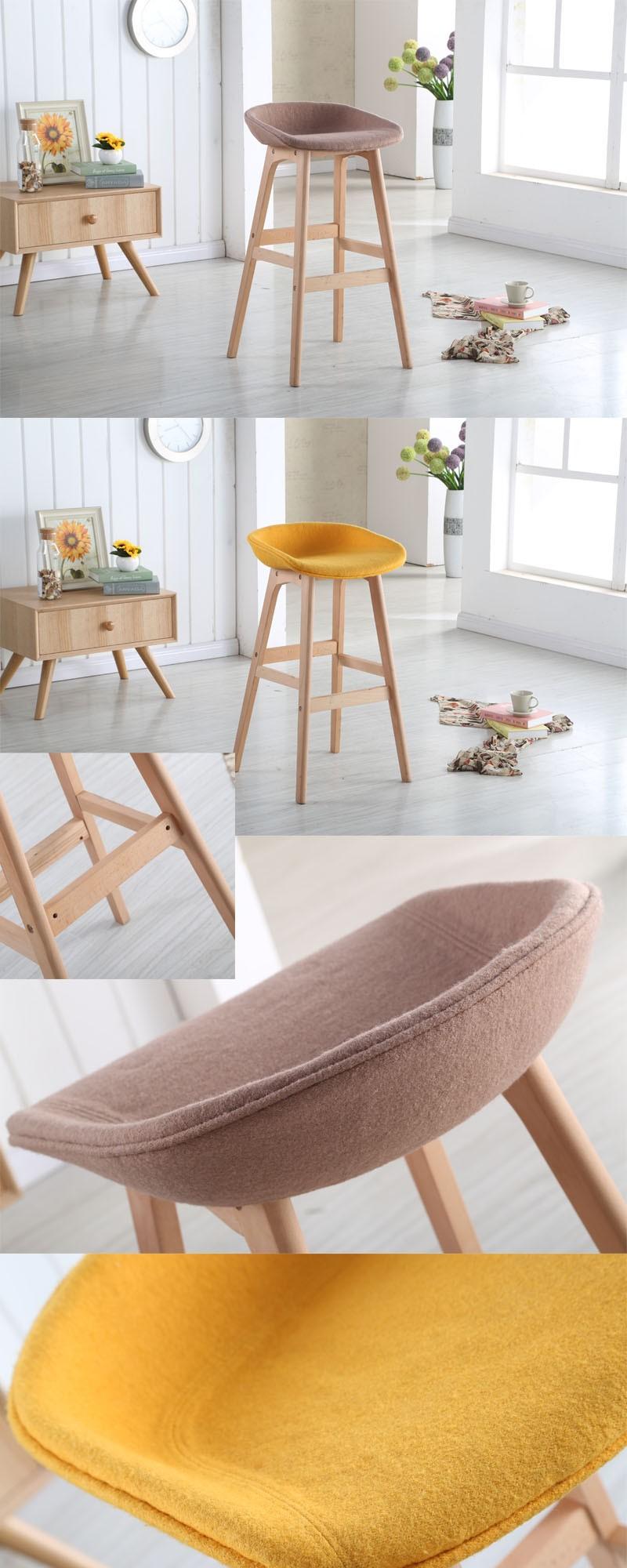 Europe popular metal base high fabric chair.jpg