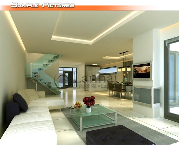 Small Villa House Interior Design Plan