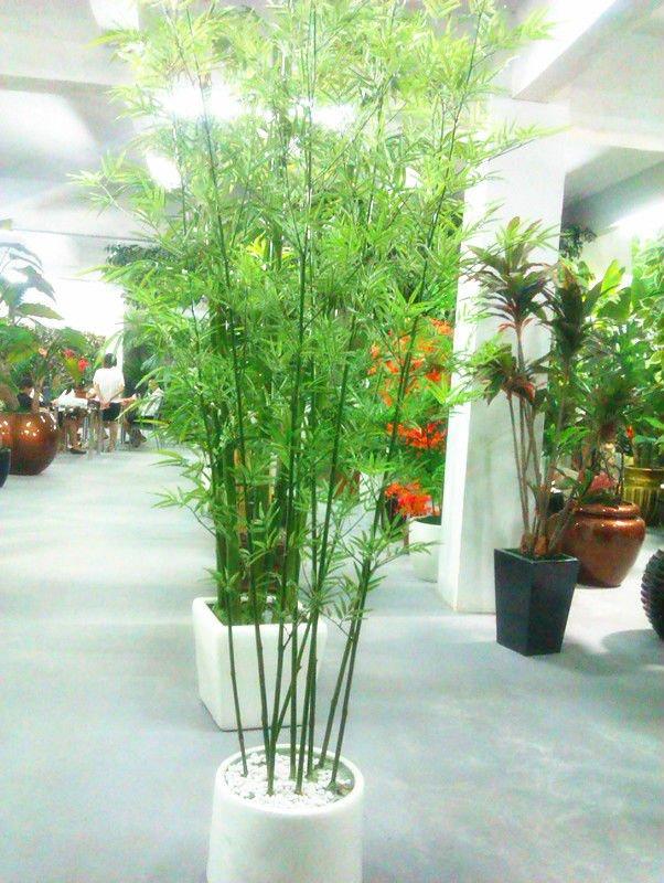 Novo Design Artifiical Plantas: Artificial Decorativa De Bambu (sem ...