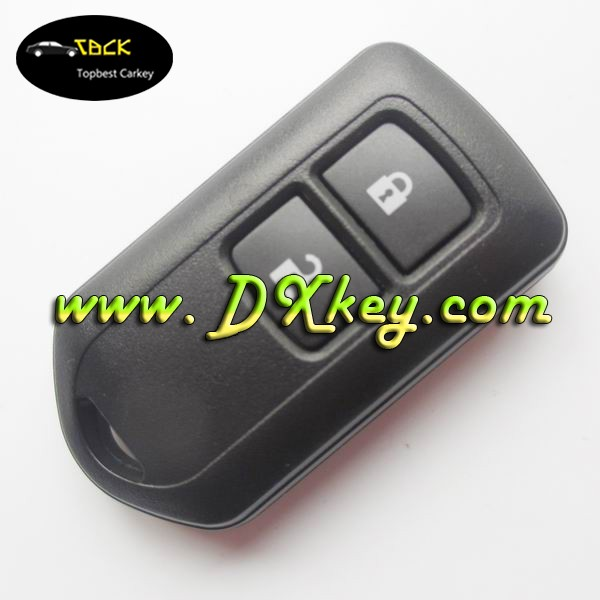 Good quality 2 buttons remote key shell car keyless entry system for toyota vios remote key