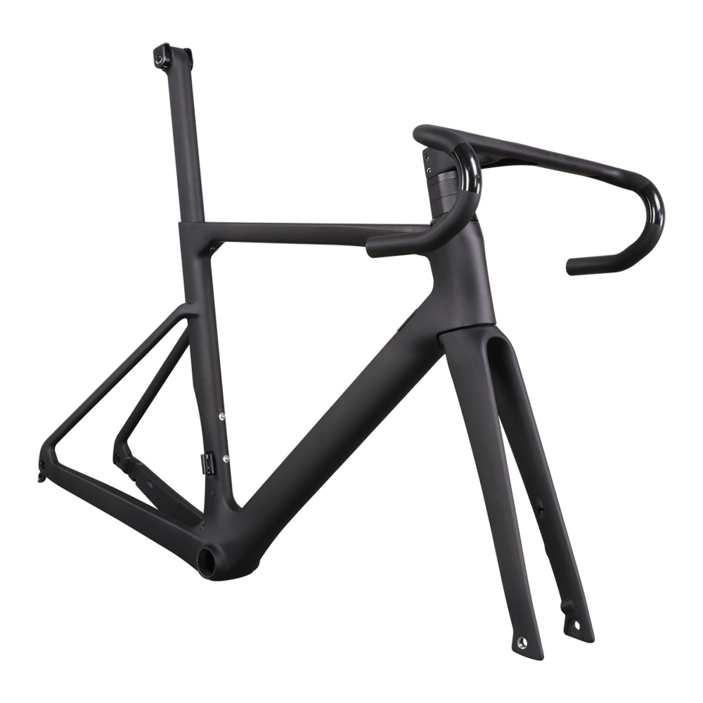 2019 Newest Light T800 AERO Flat Mount Disc <strong>Carbon</strong> <strong>Road</strong> <strong>Frame</strong>