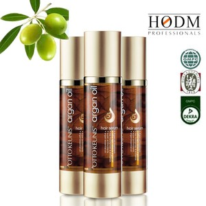 Keratin Repairing crystal hair serum cold pressed argan oil for hair and skin