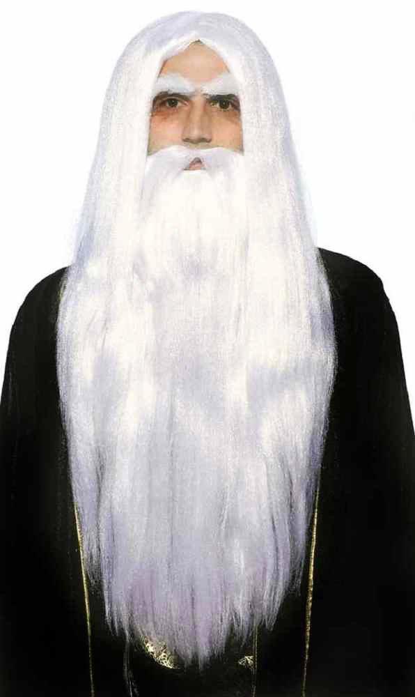 Forum Novelties Merlin Wig and Beard Set-