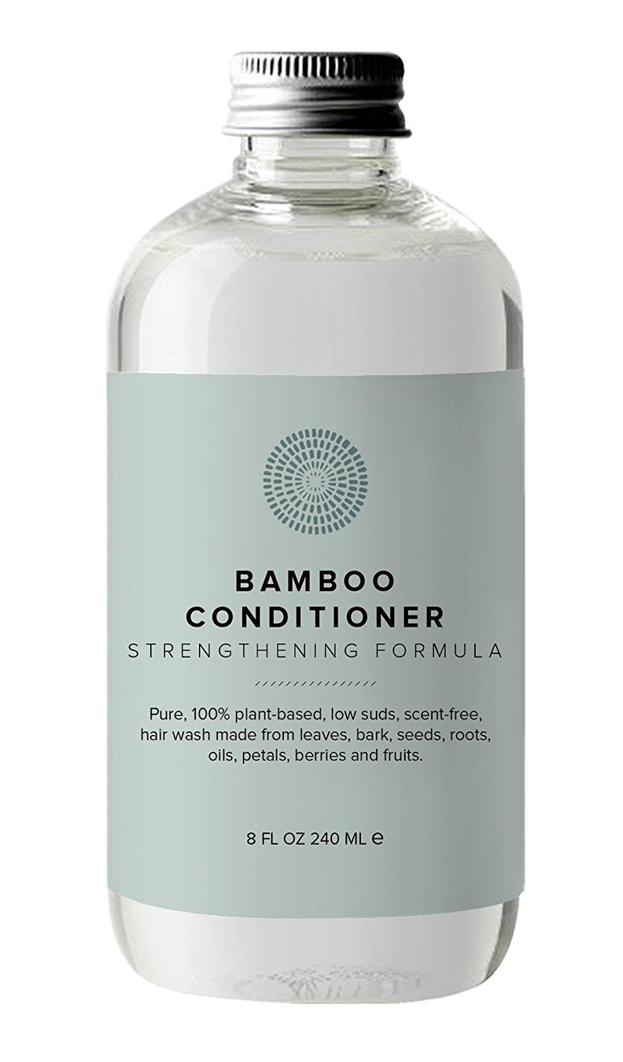 Hairprint - 100% Plant-Based / All Natural Fermented Bamboo Conditioner (8 fl oz / 240 ml)