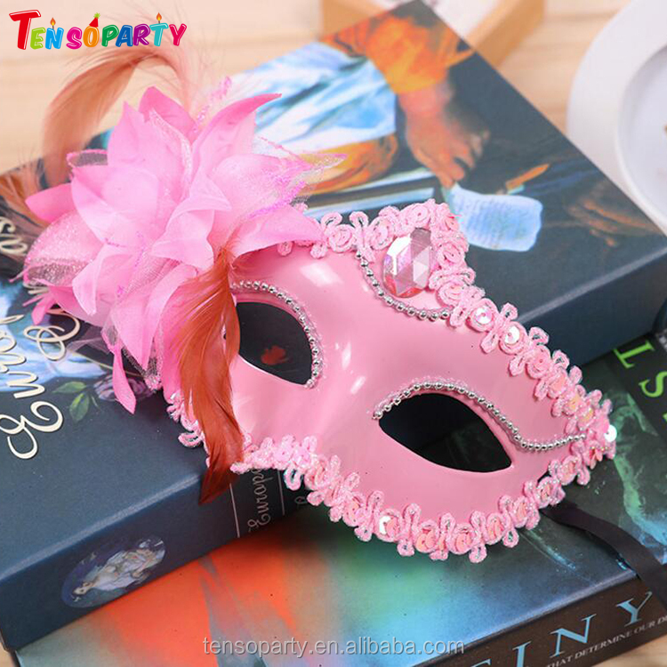 Masquerade Carnival Dance Patry Custom Eye Face Lace Mask For Sexy Lady makeup