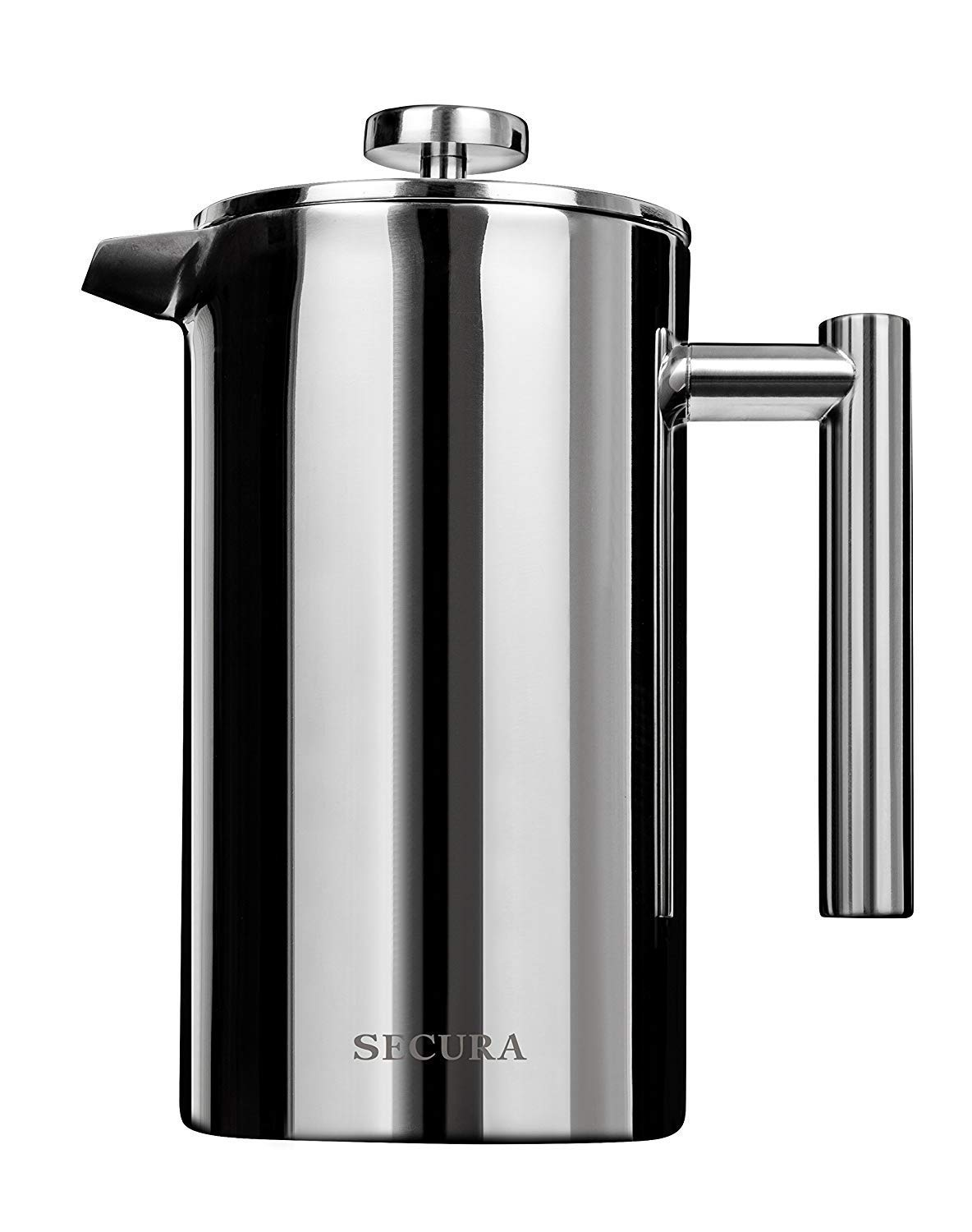 Secura Stainless Steel French Press Coffee Maker (1000ML)