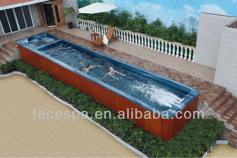 6 metro bain remous piscine hors sol spa de nage buy product on. Black Bedroom Furniture Sets. Home Design Ideas