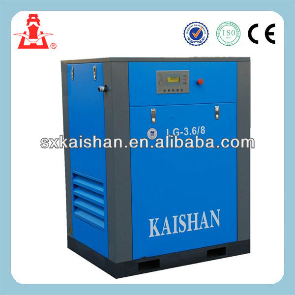 kaishan screw air compressor electric stationary compair air screw compressor LG