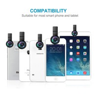 Festival promotional 3 in 1 phone lens Universal Mobile Phone Smartphone Lens For iPhone Photograph Camera Lens