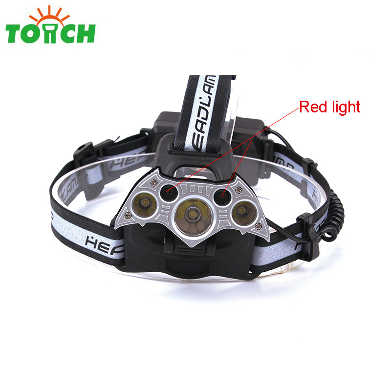 4000Lm 3*10-watt T6 LED Headlights for Camping & Hiking