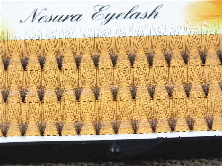 Wholesale Individual Mink Flat Russian Volume Lashes 0.10mm wholesale silk individual eyelash extensions 10strands