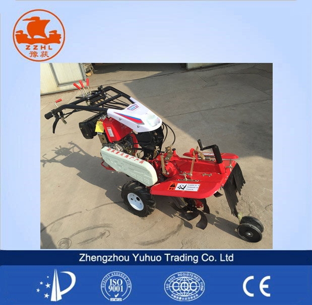 two wheel potato plow with diesel engine