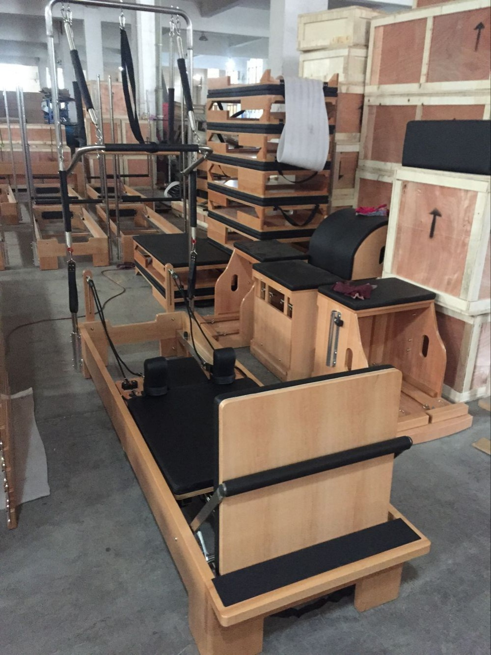 China Pilates Reformer Spring Combo Chair In High Quality
