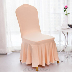 Hotel dining table hotel wedding banquet chair cover
