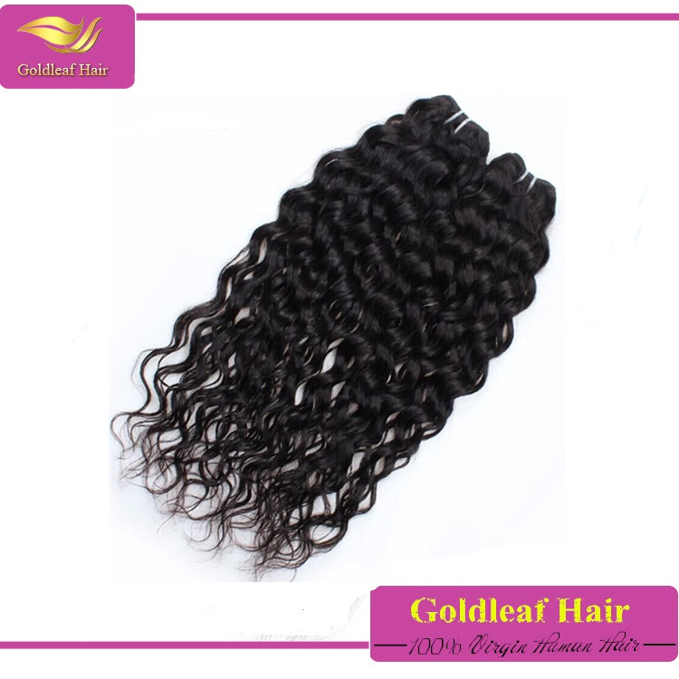 no shedding wholesale unprocess water wave virgin peruvian hair weave for african americans