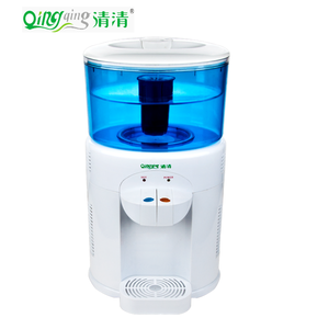 Supply Hot & Cold desktop water cooler/dispenser with filter