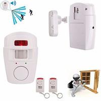 PIR Motion Sensor Detector Wireless Home Store Shop Independent Security Sensor Alarm
