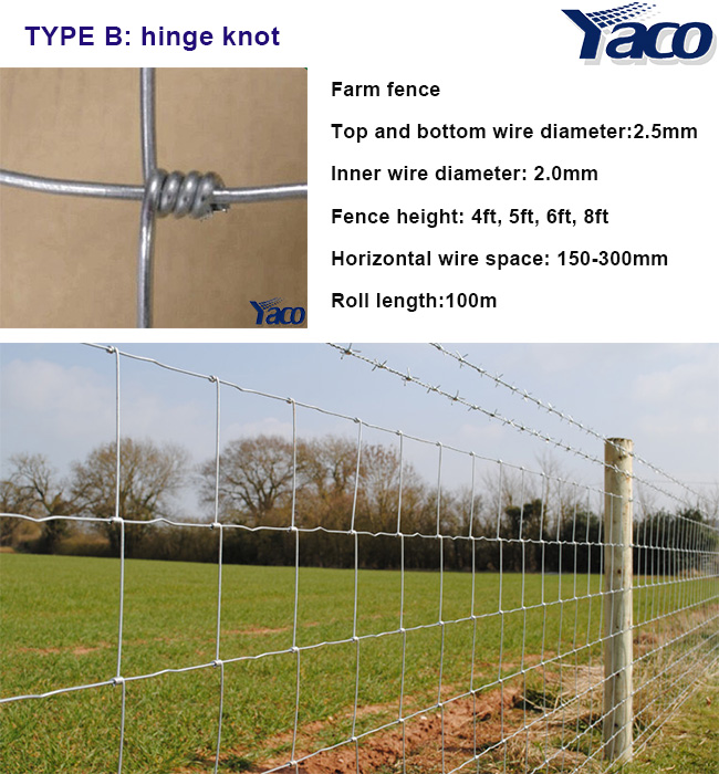 No Climb Horse Wire Fence Corrosion Resistant wholesale farm fencing