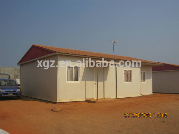 prefab steel insulated portable folding cabins
