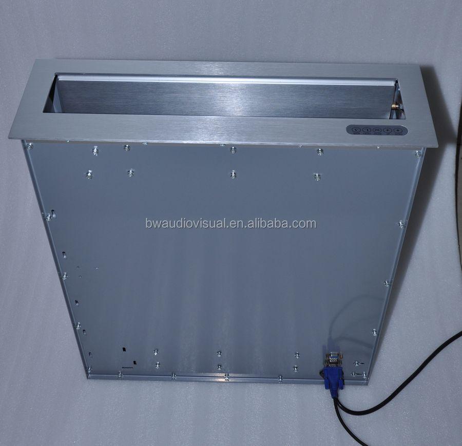 Hidden Electric Pop Up Desk Lcd Monitor Lift Motorized
