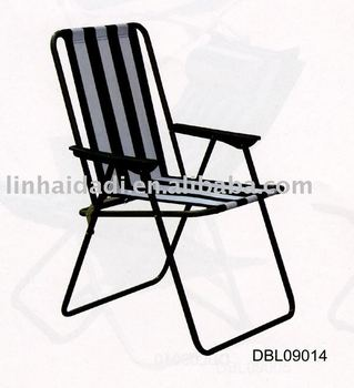 Metal Spring Folding Beach Chair Fold Up Chair