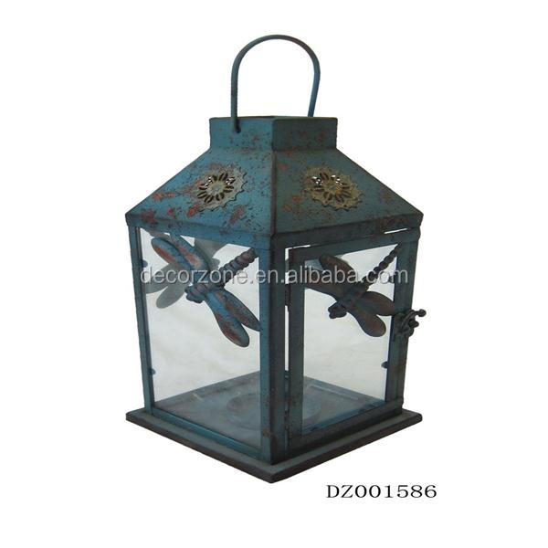 Cheap Metal Garden Rustic Candle Lantern For Sale