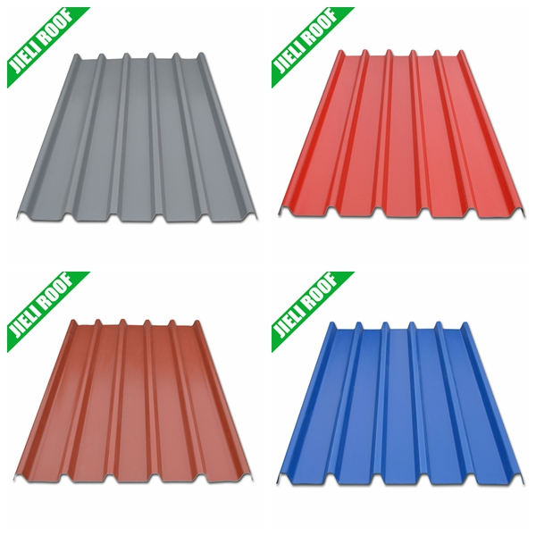 Popular Precoated Corrugated PVC Roofing Sheet Price