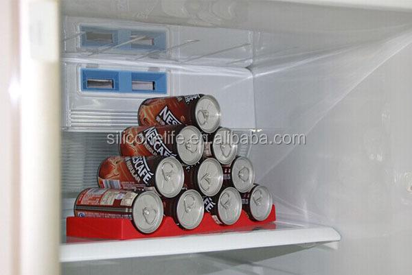 Kühlschrank Flaschenhalter : Werbe silikon bier stapel storage silikon kühlschrank