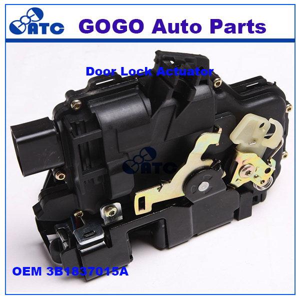 GOGO left front Door Lock Actuator For VW PASSAT B5 OEM 3B1837015A,6X1837013H,6X1837015Q,3D2837015K,5Z1837015F,3B1837015Q