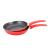 Best selling black non stick aluminum flanging frying pan 3pcs set