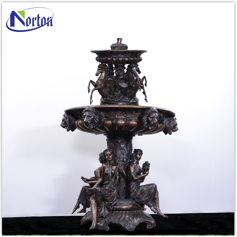 Antique designed large size bronze fountain NT--BCA1342J