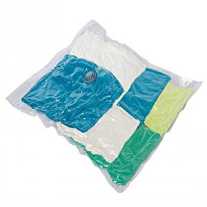 Boli 18 Pack Wholesale Space Saver Bag Vacuum Storage Bags - 1 Jumbo, 3 Xlarge, 4 Large, 4 Med, 3 Travel Bag in Two Size, 1 Suit Size Hanging Compression Bag, 2 Jumbo Cubic Bag Comb,BL6001-18