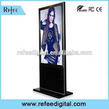 32/42/55/65inch ipad style/ stright corner floor standing 42 inch lg screen floor standing lcd advertising touch screen