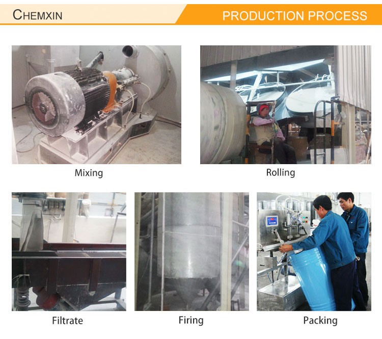 High adsorption 3-5mm H Type Alumina Silica Gel Desiccant for dryer, catalyst and carrier