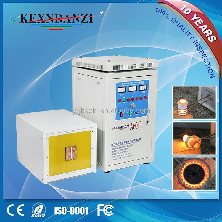 good quality KX-5188A60 high frequency induction heating machine for melting brass <strong>welding</strong>
