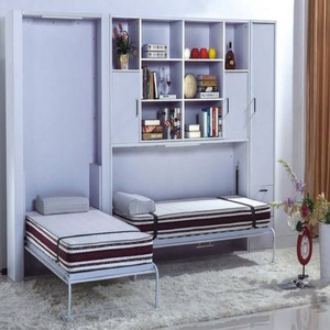 modern space-saving furniture / wall bed JL-WD05 with book shelf