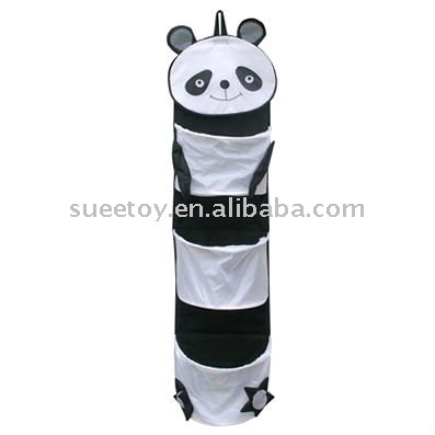 Panda Shaped Hanging Hamper,Animal Hanging Hamper